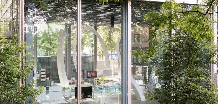L' exposition Junya ISHIGAMI à la Fondation Cartier pour l' Art Contemporain, près du Fred Hôtel