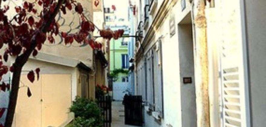 Maison de Georges Brassens Impasse Florimont