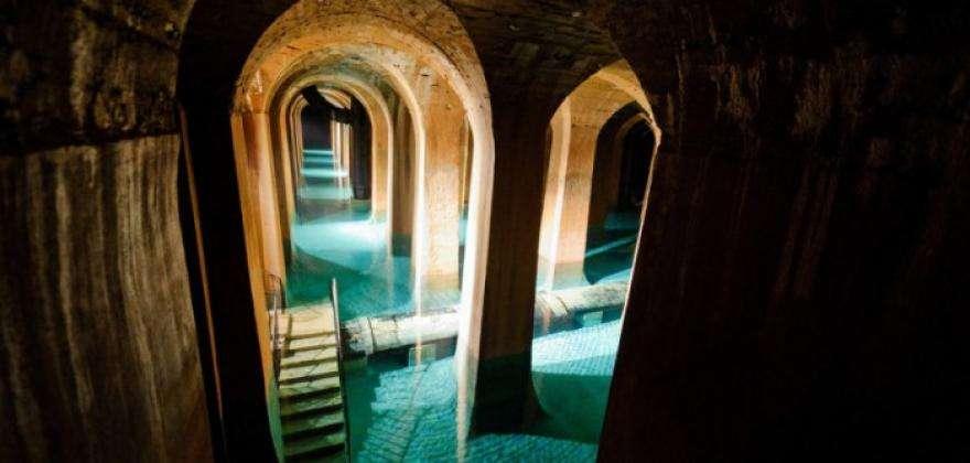 Montsouris water reservoir