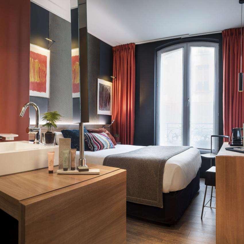 Fred Hôtel - Chambre