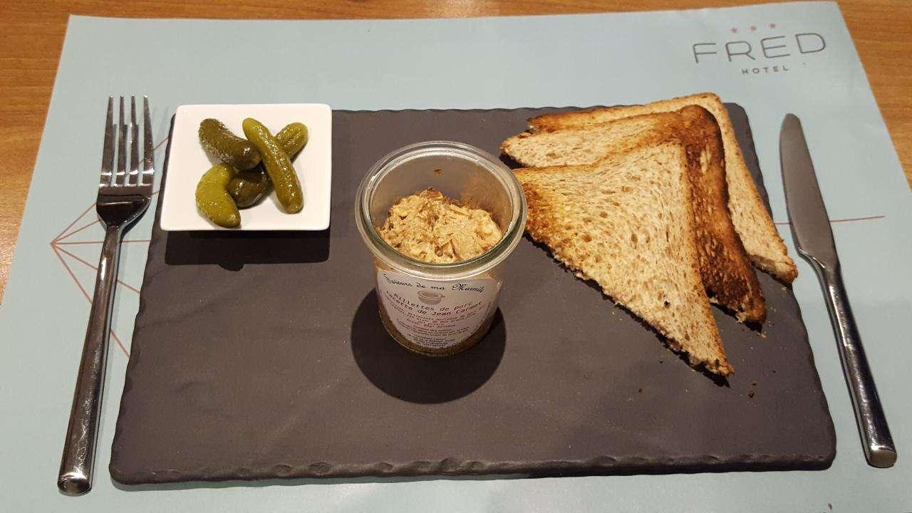 Fred Hôtel - Light meals